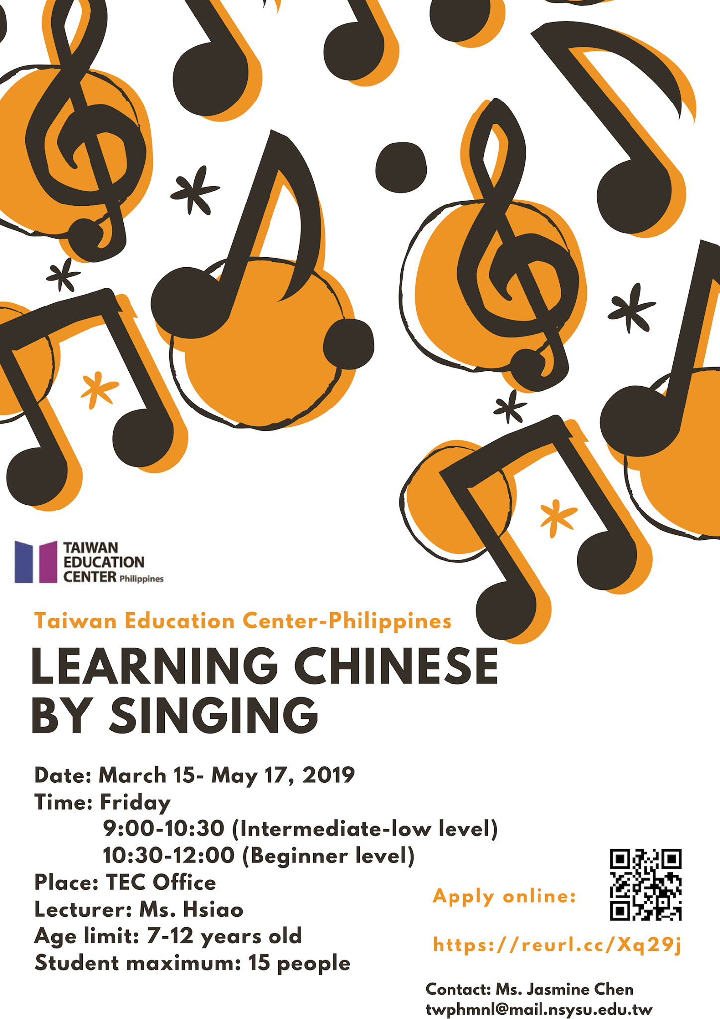 Learning Chinese by Singing